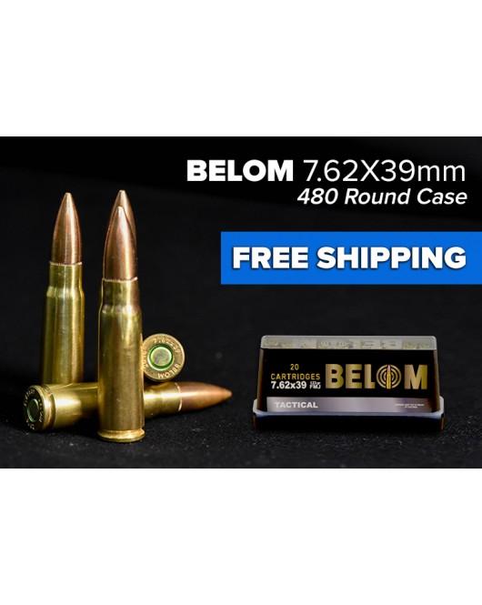 Belom 7.62 x 39 (480 round case)
